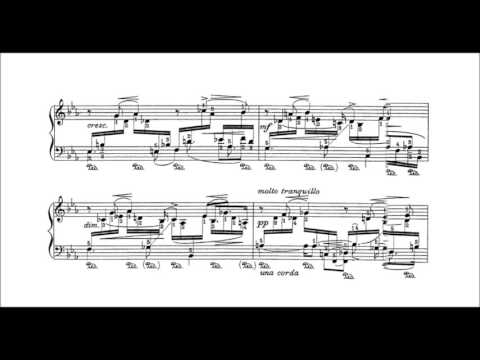 Leopold Godowsky - Meditation for the left hand alone (audio + sheet music)