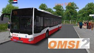 OMSI 2 Luxembourg Fictional 1.0 Linia 978 Mercedes Benz-Citaro C2 U