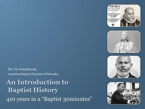 American Baptist History Video