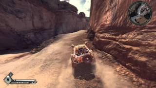 Rage gameplay mini game and alittle car combat.