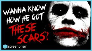 The Dark Knight: The Joker - Wanna Know How He Got These Scars?