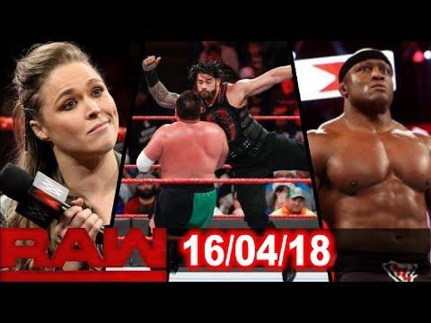 WWE Monday Night Raw Highlights Results & Prediction
