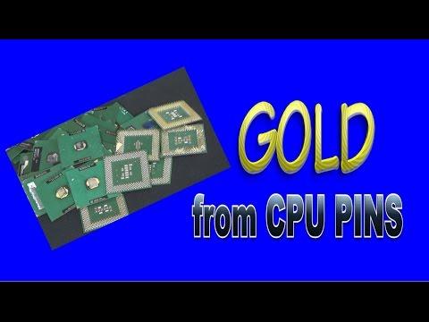 GOLD RECOVERY (Green Fiber CPU Pins)