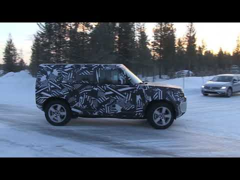 2020 Land Rover Defender caught looking as boxy as ever