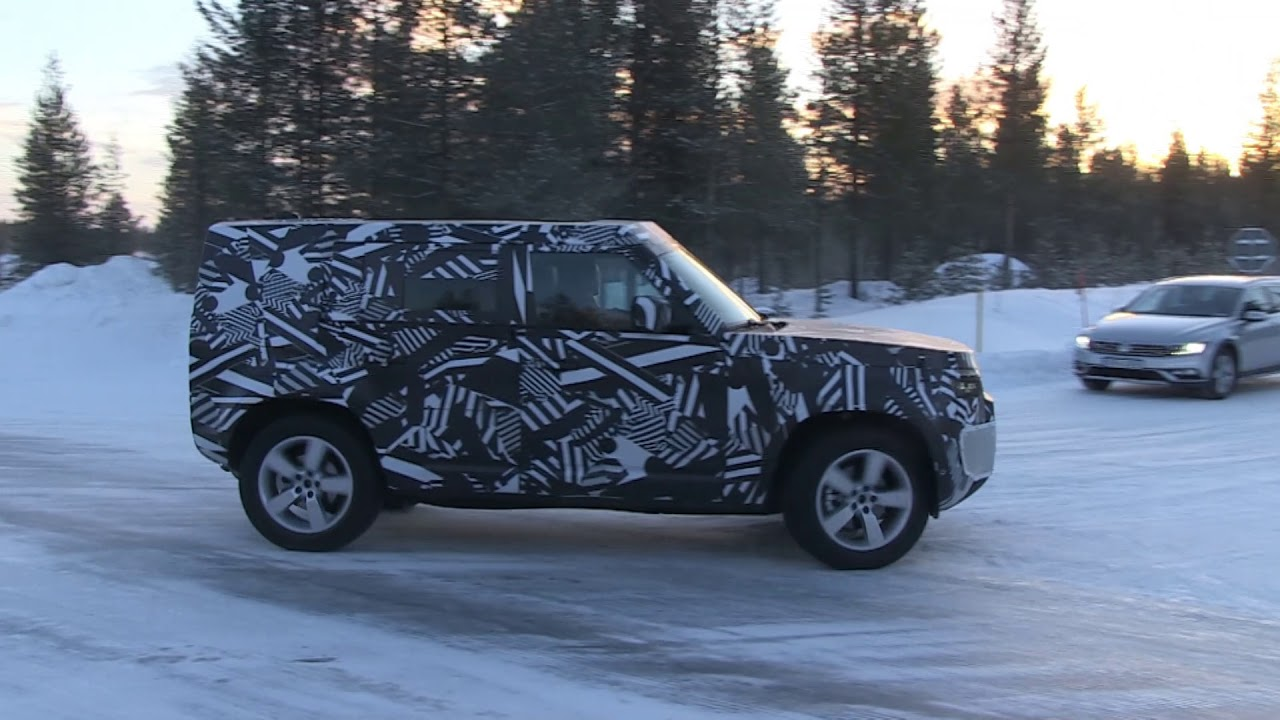 2020 Land Rover Defender spy video