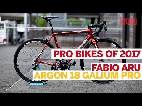 Fabio Aru's Argon 18 Galium Pro   Pro Bikes of 2017   Cycling Weekly
