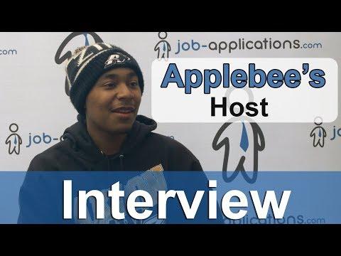 Applebee's Interview – Host