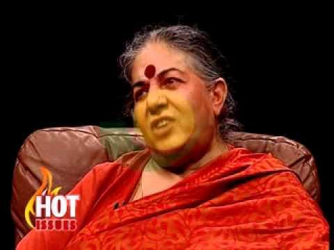 Hot Issues - With Dr.Vanadana Shiva -15/8/2015