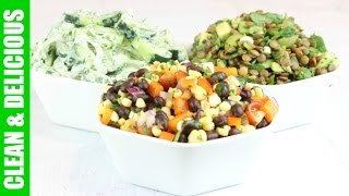 3 Tasty Summer Salad Recipes - C&D collaboration with Mind over Munch!