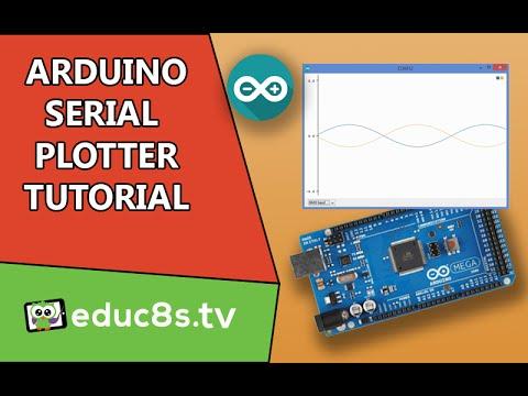 Arduino Tutorial: Serial Plotter The New Impressive Tool Of The Arduino IDE.