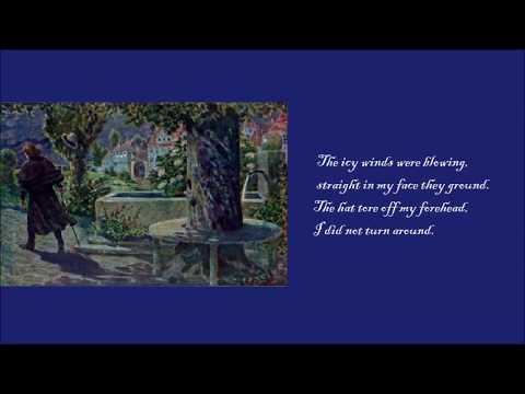 Anton Dermota, Der Lindenbaum (Winterreise), Franz Schubert (subtitles)
