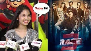 Bajrangi Bhaijaan's CUTE Girl Munni's Amazing REVIEW Of Salman Khan's Race 3 Movie