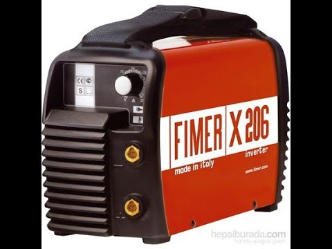 Fimer X 206 İnverter Kaynak Makinesi Tanıtımı