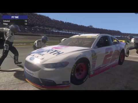 Race 32/36: Alabama 500 (Brad Keselowski) Nascar Heat Evolution Championship Series (Season 2)