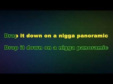 Sage The Gemini - Panoramic (Karaoke/Instrumental) with lyri