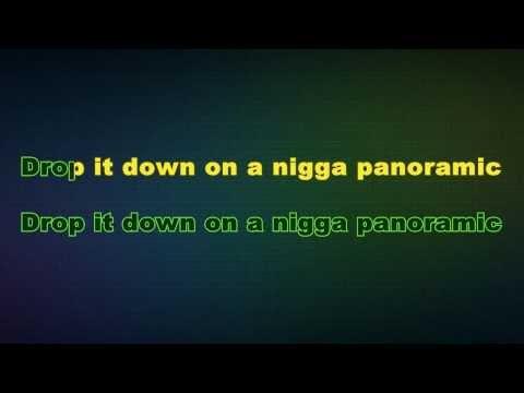 Sage The Gemini - Panoramic (Karaoke/Instrumental) With Lyrics  Ft. Show Banga, Dmac