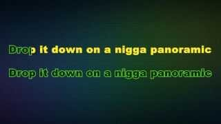Sage The Gemini - Panoramic (Karaoke/Instrumental) with lyrics  ft. Show Banga, Dmac