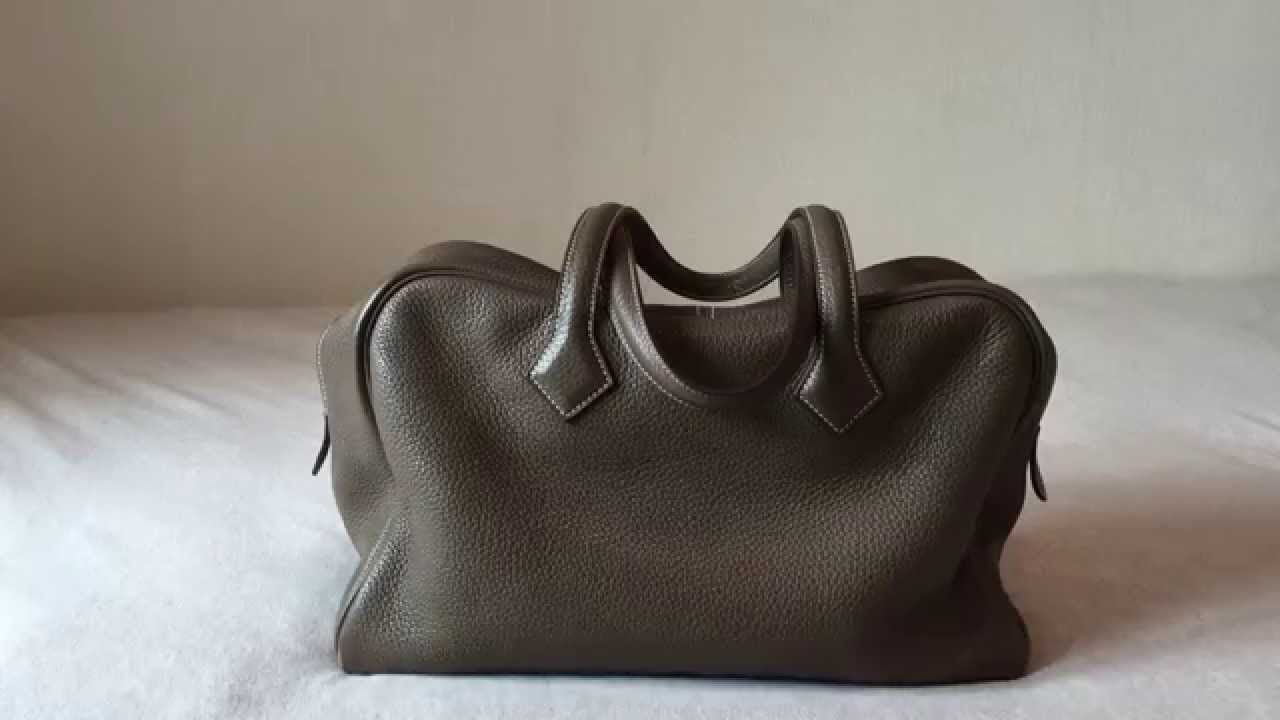 Hermes Victoria II 35 cm Review - YouTube