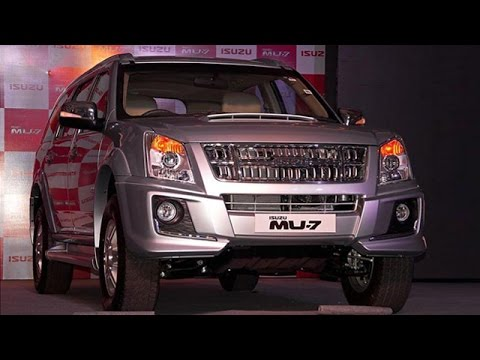 Isuzu MU-7 Automatic Launched In India; Priced At Rs. 23.90 Lakhs