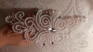 Свадебная вышивка от Виктории Бойко SALIMATYLE