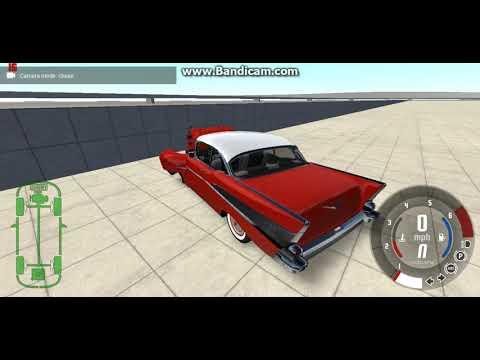 BeamNG Drive 1957 Chevy Bel Air crash test