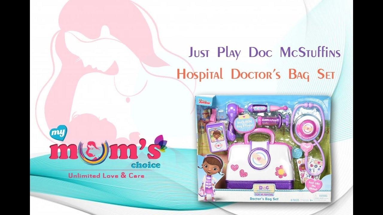 Just Play Doc McStuffins Hospital Doctors Bag Set by Just Play