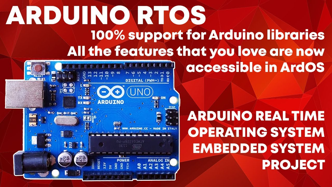 ARDOS (Arduino OS) Mini Operating System