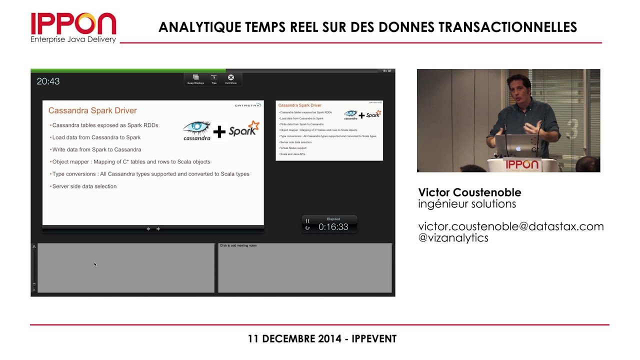 Apache Cassandra & DataStax Presentations (in french)
