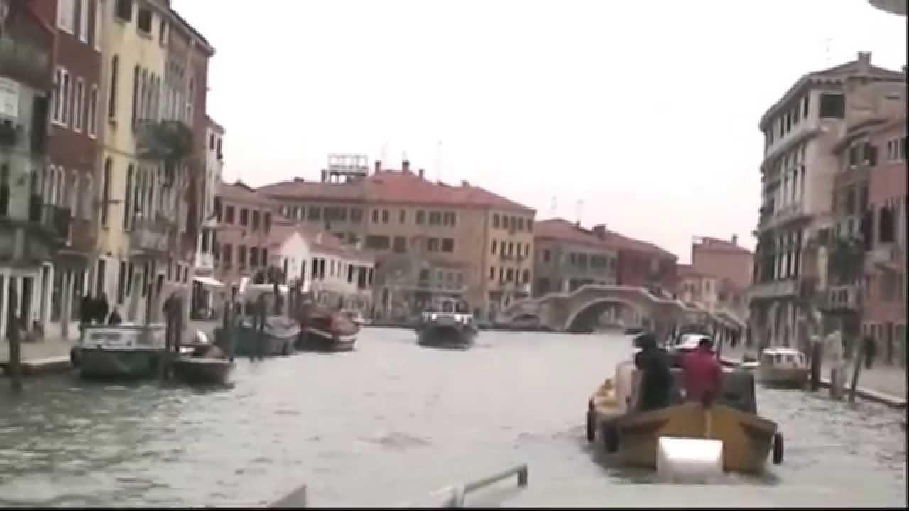 foto de Venice - From Piazalle Roma to Fondamente Nuove by Vaporetti - YouTube