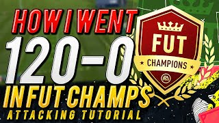 HOW I WENT 120-0 IN FUT CHAMPIONS | POST-PATCH ATTACKING TUTORIAL | FIFA 20 Ultimate Team