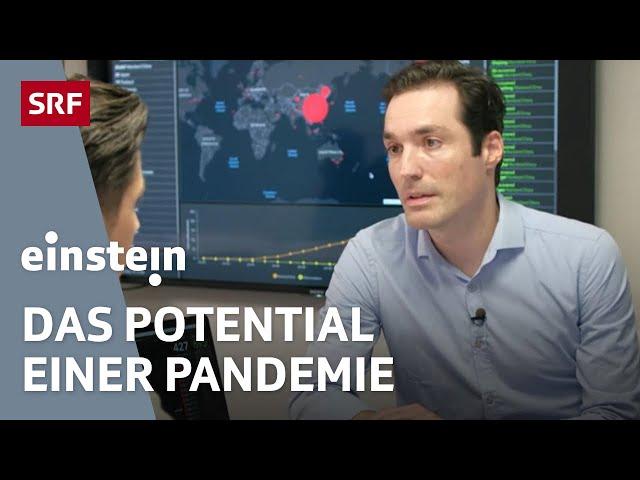 Die Gefahr des Corona-Virus – Interview mit Epidemiologe Christian Althaus | SRF Einstein