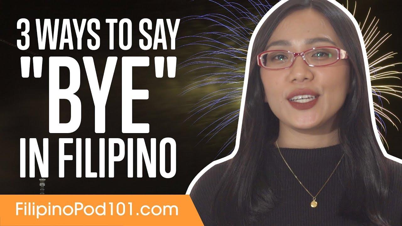 filipino word for hello