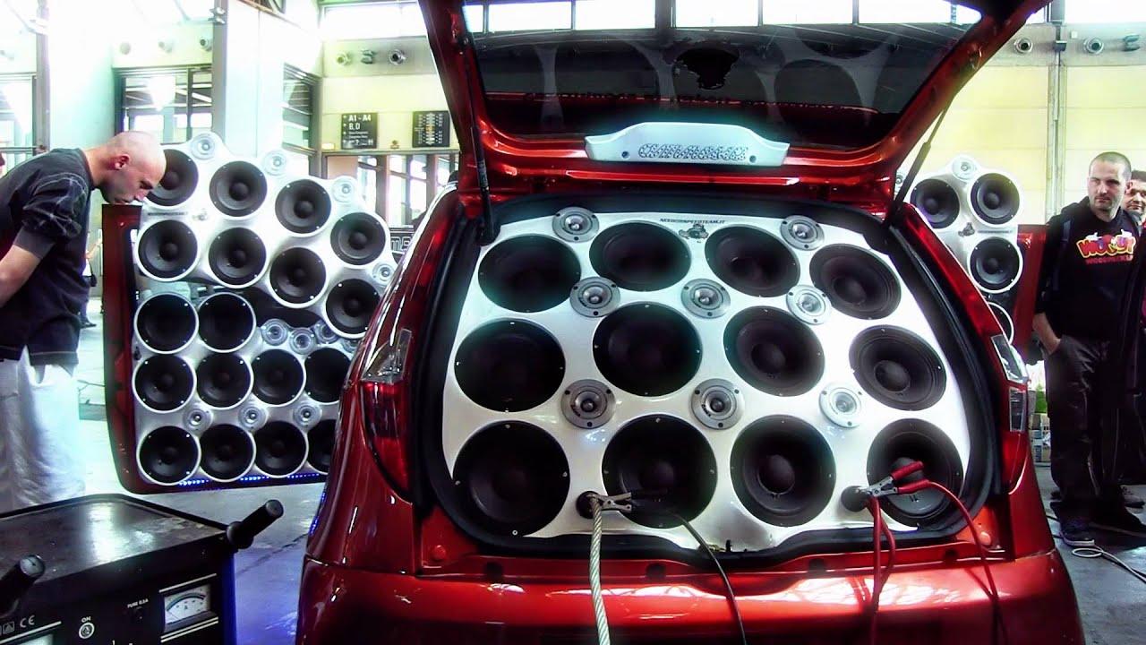 wheelie bin sound system how to make