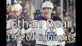 Ethan Bear 2019/2020 Highlights