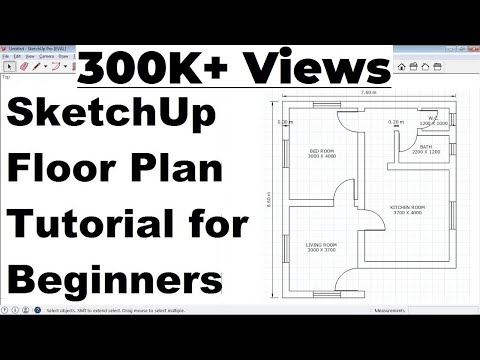 SketchUp Floor Plan Tutorial for Beginners