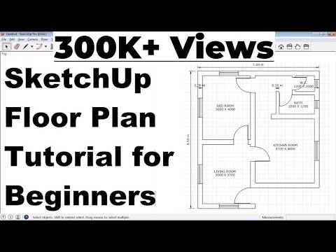 Sketchup Floor Plan Tutorial For