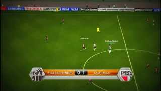 PES 2014:Copa Libertadores |Gameplay PC 720p HD
