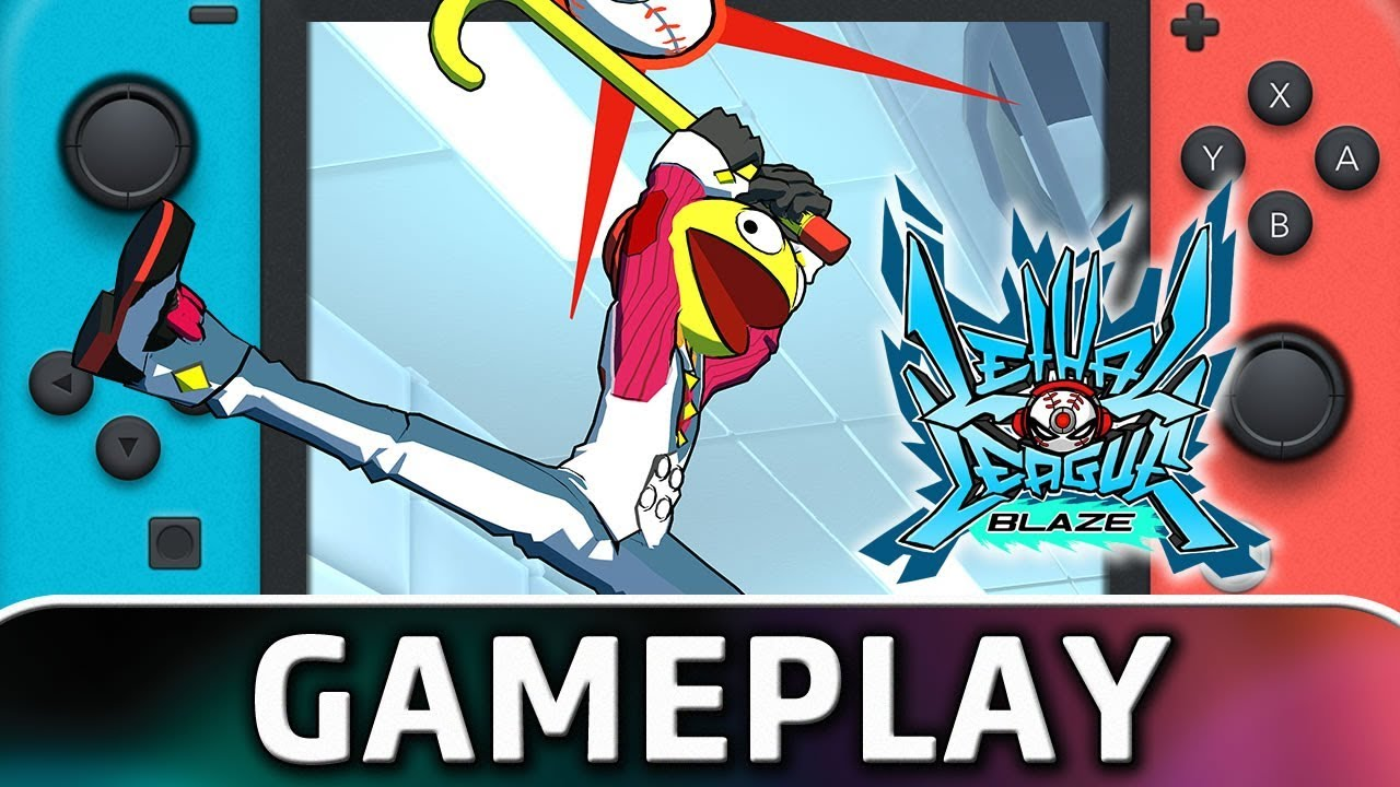 Lethal League Blaze   First 10 Minutes on Nintendo Switch