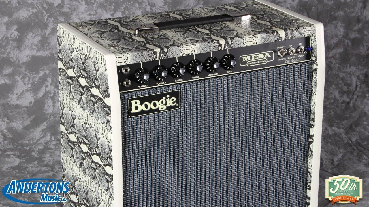 Mesa Boogie King Snake Demo  Santanatastic Tones  YouTube