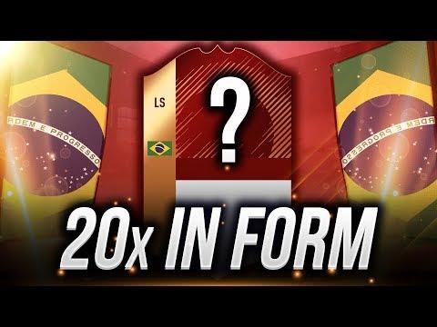 OTWIERAM PACZKĘ Z 20x IN FORM za FUT CHAMPIONS! FIFA 18 ULTIMATE TEAM!