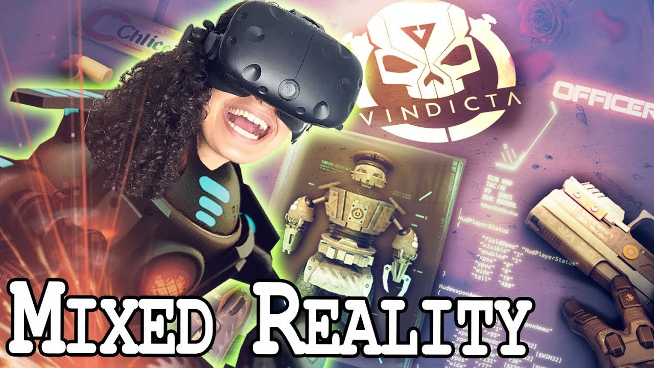 VR SHOOTER IN MIXED REALITY (+ NEW UPDATES!) | VINDICTA VR Review (HTC Vive  Gameplay)