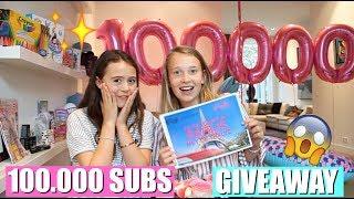 100.000 SUBS MEGA GIVEAWAY PARTY! | WINACTIE GESLOTEN!