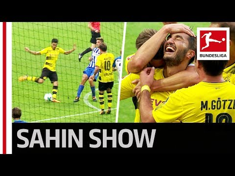 Dortmund's Sahin Is Back - Great Goal And Assist For Aubameyang