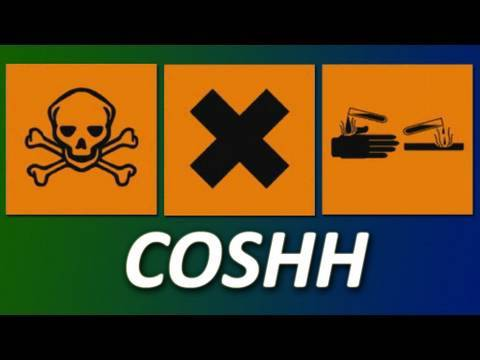 COSHH Safety Training Video UK- Control of Substances Hazardous to ...