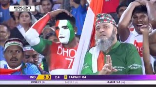 India vs Pakistan T20 27 February 2016 Highlights