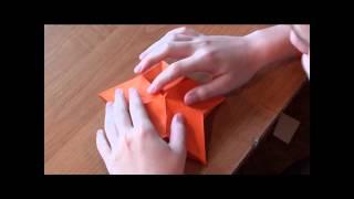 http://nashydetky.com Оригами Цветок клематиса (видео).wmv(http://nashydetky.com представляет новыйй видеоурок по оригами. Сегодня сделаем цветок, который очень похож на цвето..., 2012-06-27T03:37:58.000Z)