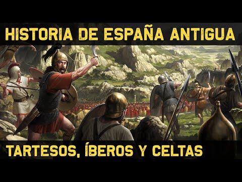 ESPAÑA 1: Prehistoria y Antigüedad - Tartessos, Íberos, Celtas y la Romanización