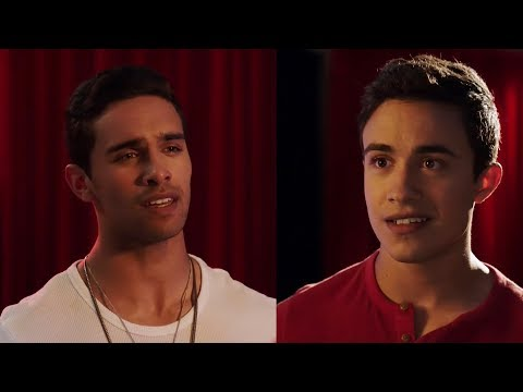 Power Rangers Ninja Steel  Family Fusion  Levi is Aiden  Family Song  Episode 12