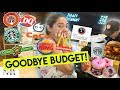 Letting the person IN FRONT of us DECIDE WHAT WE EAT! ( SIRA DIET! BUTAS BULSA! ) | Nina Rayos 💋