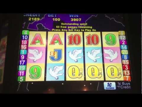 Aristocrat - Love Birds Slot Bonus - Harrah's Racetrack and Casino  - Chester, PA